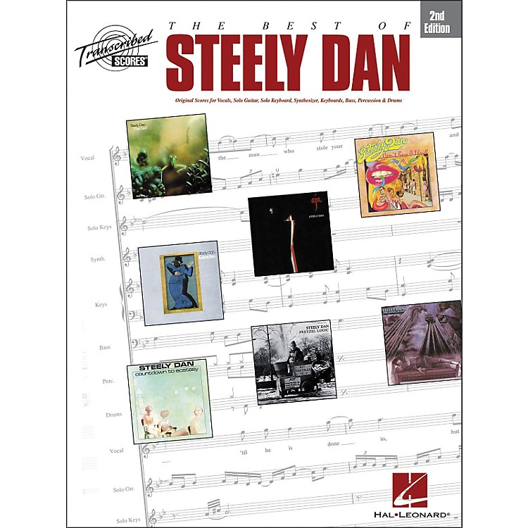 Hal Leonard The Best of Steely Dan - 2nd Edition, Transcribed Score Series Songbook