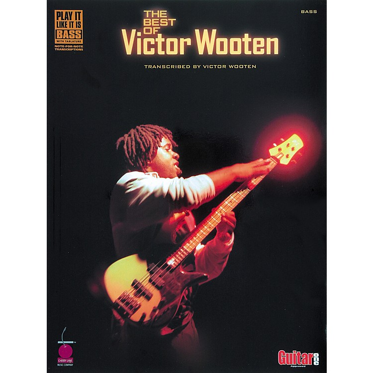 Cherry LaneThe Best of Victor Wooten Bass Tab Songbook