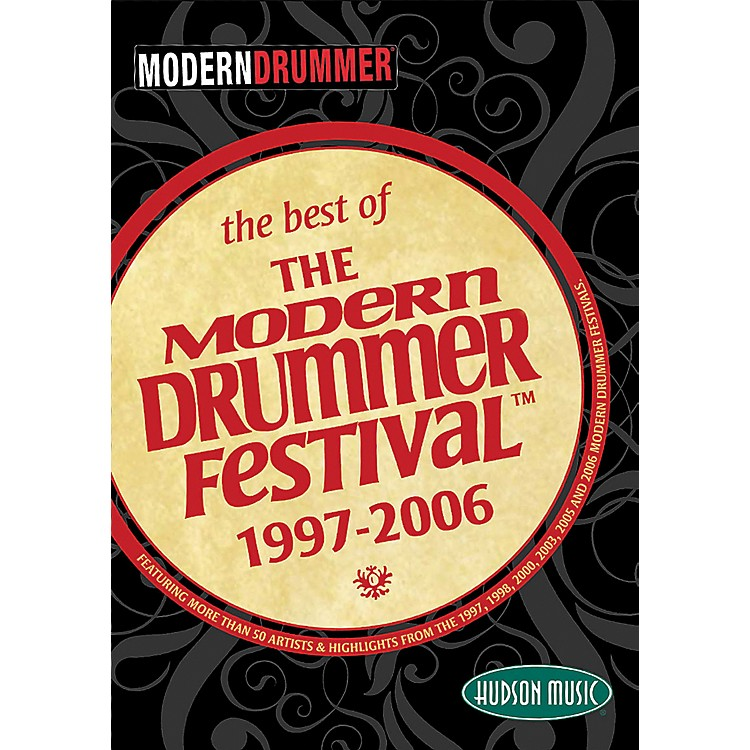 Hudson Music The Best of the Modern Drummer Festival 1997-2006 DVD Set