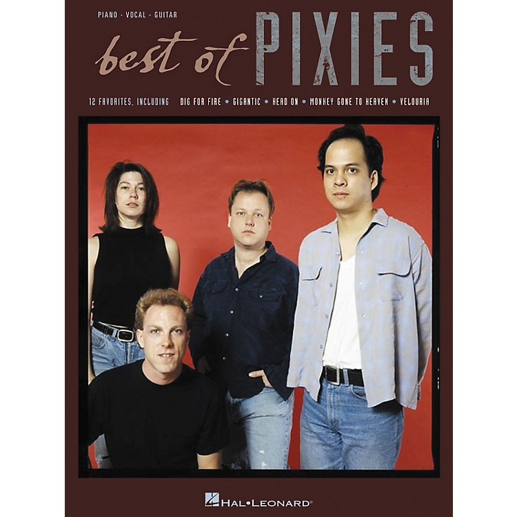 Hal Leonard The Best of the Pixies Piano, Vocal, Guitar Book