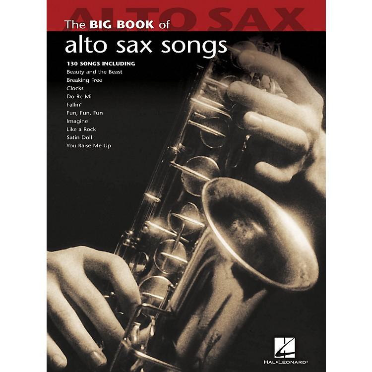 Hal LeonardThe Big Book Of Alto Sax Songs