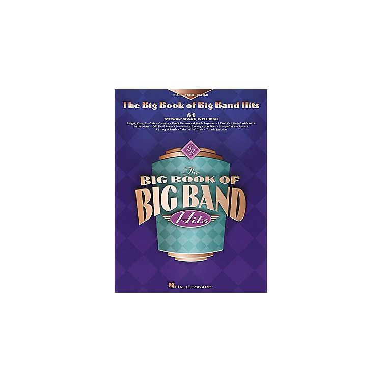 Hal LeonardThe Big Book of Big Band Hits Piano, Vocal, Guitar Songbook