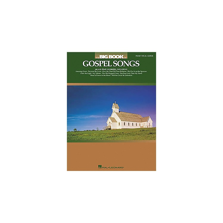 Hal LeonardThe Big Book of Gospel Songs Piano, Vocal, Guitar Songbook