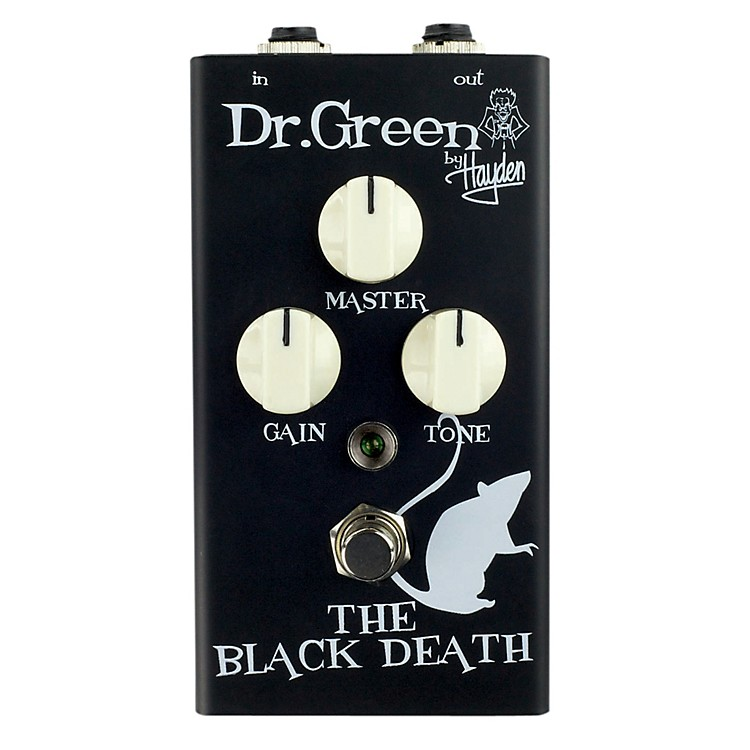Dr. GreenThe Black Death Heavy Distortion Guitar Effects Pedal