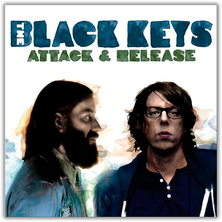 WEA The Black Keys - Attack & Release (with Bonus CD) Vinyl LP