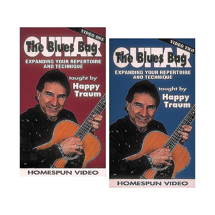Homespun The Blues Bag 2-Video Set (VHS)