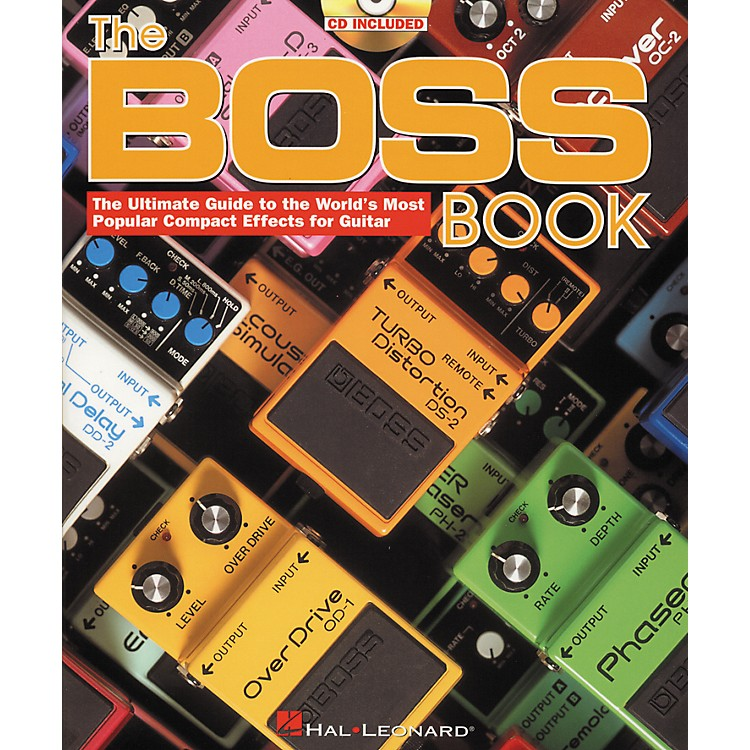 Hal LeonardThe Boss Book (Book/CD)