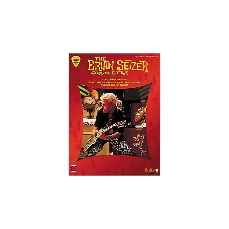 Hal LeonardThe Brian Setzer Orchestra Guitar Tab Book