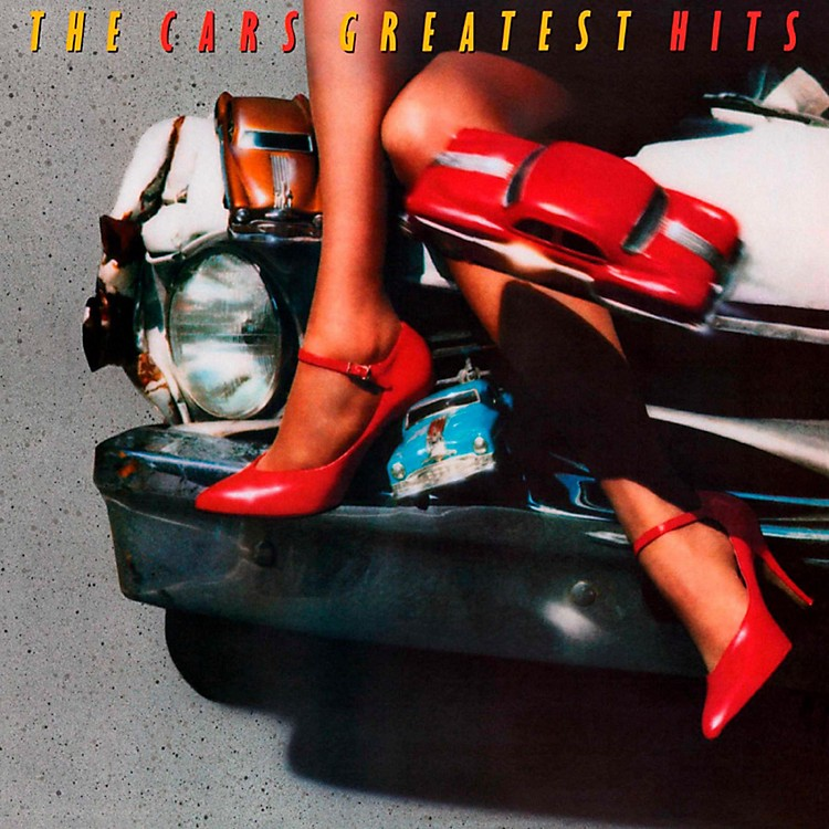 RED The Cars - The Cars Greatest Hits LP