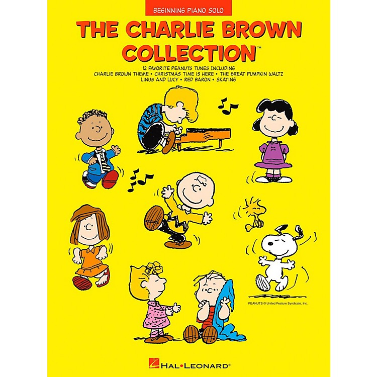 Hal Leonard The Charlie Brown Collection - Beginning Piano Solos