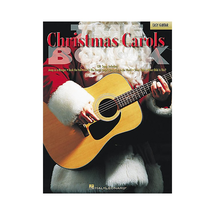 Hal LeonardThe Christmas Carols Easy Guitar Tab Songbook