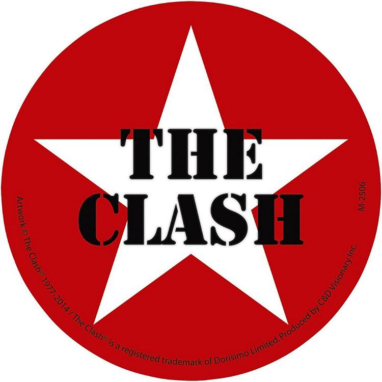 C&D VisionaryThe Clash Magnet - Star logo