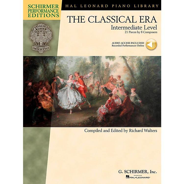 G. SchirmerThe Classical Era - Intermediate Level - Schirmer Performance Editions Book Online Audio Access