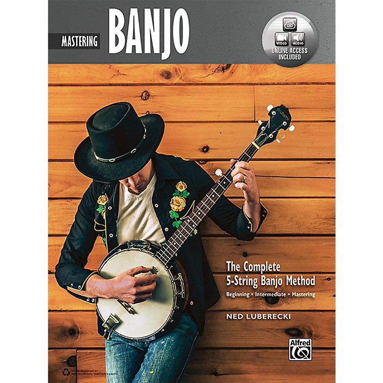AlfredThe Complete 5-String Banjo Method: Mastering Banjo, Book & Online Audio & Video