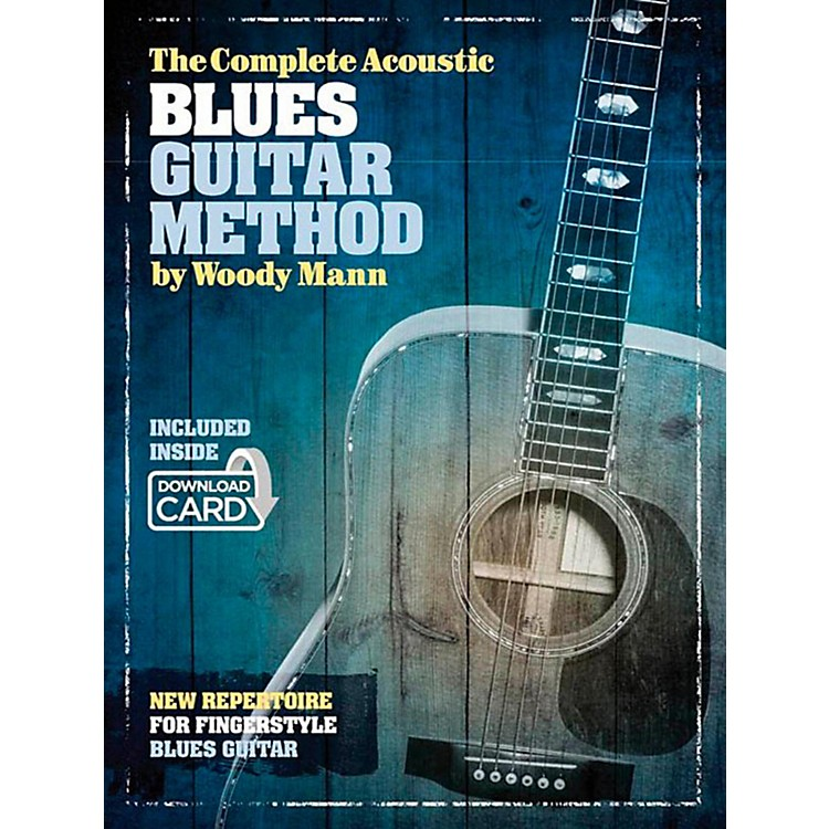 Music Sales The Complete Acoustic Blues Guitar Method - Book/Online Audio