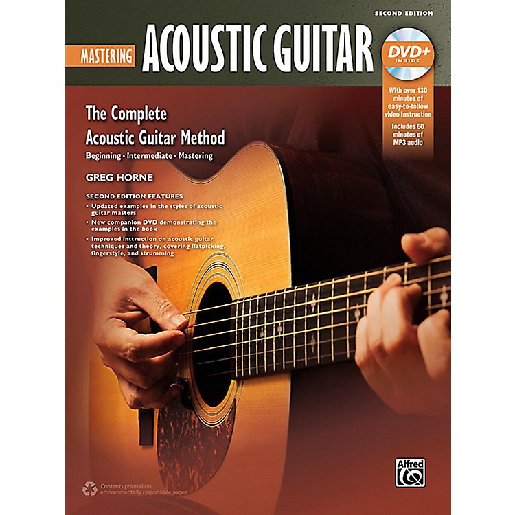 AlfredThe Complete Acoustic Guitar Method: Mastering Acoustic Guitar (2nd Edition) - Book & DVD