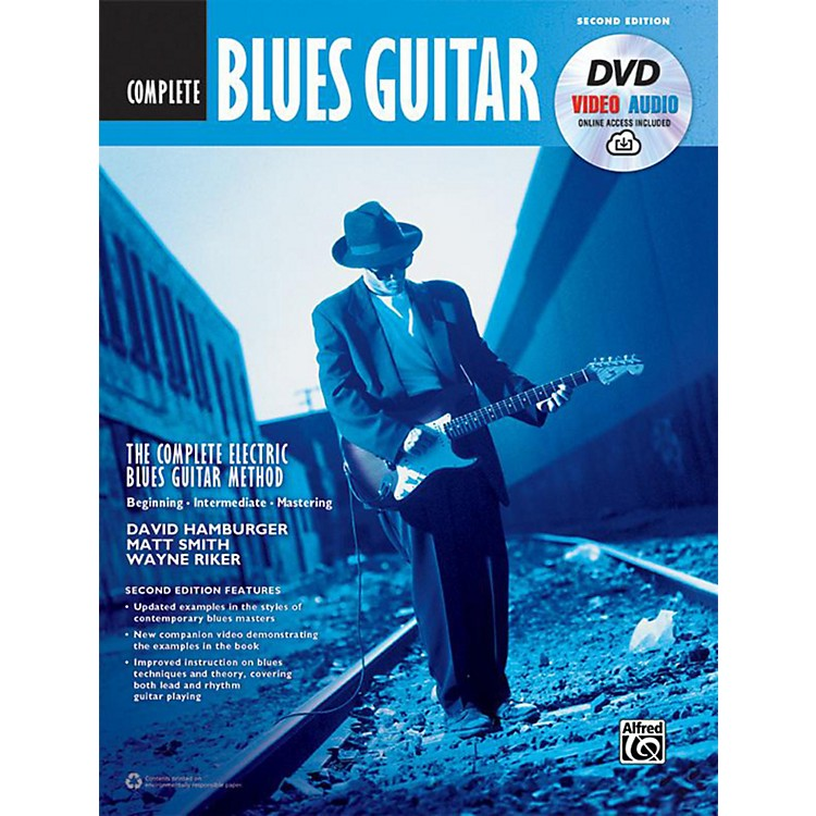 AlfredThe Complete Blues Guitar Method: Complete Edition (Second Edition) - Book, DVD & Online Audio & Video