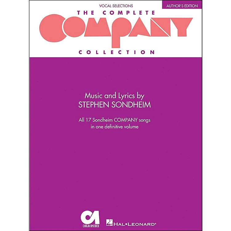Hal LeonardThe Complete Company Collection - Author's Edition Revised arranged for piano, vocal, and guitar (P/V/G)