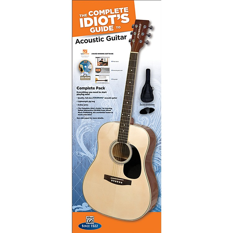 AlfredThe Complete Idiot's Guide to Learning Guitar Acoustic Guitar Complete Pack