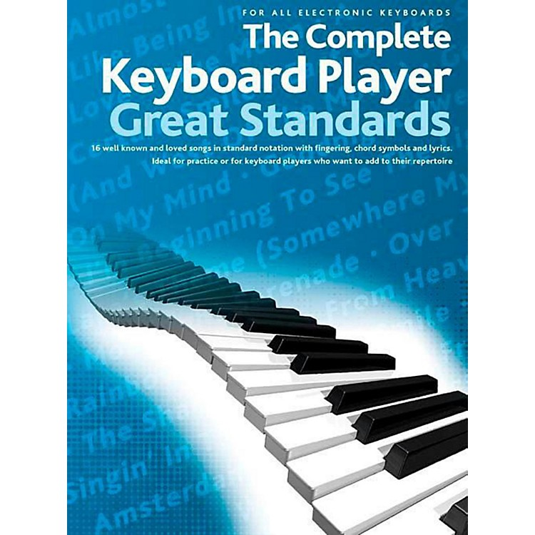 Music SalesThe Complete Keyboard Player - Great Standards