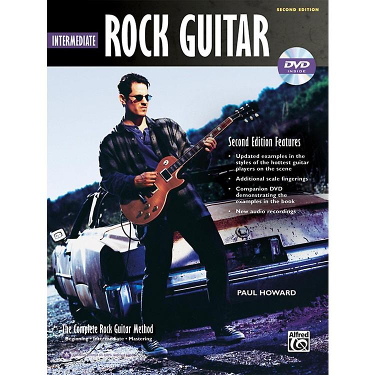AlfredThe Complete Rock Guitar Method: Intermediate Rock Guitar Book & DVD-ROM (2nd Edition)