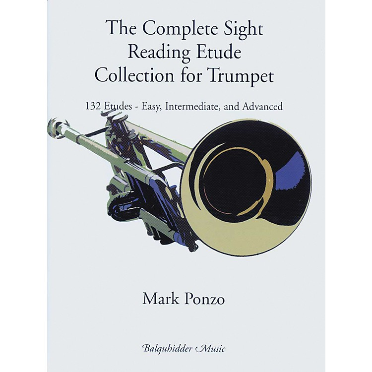 Carl Fischer The Complete Sight Reading Etude Collection for Trumpet Book
