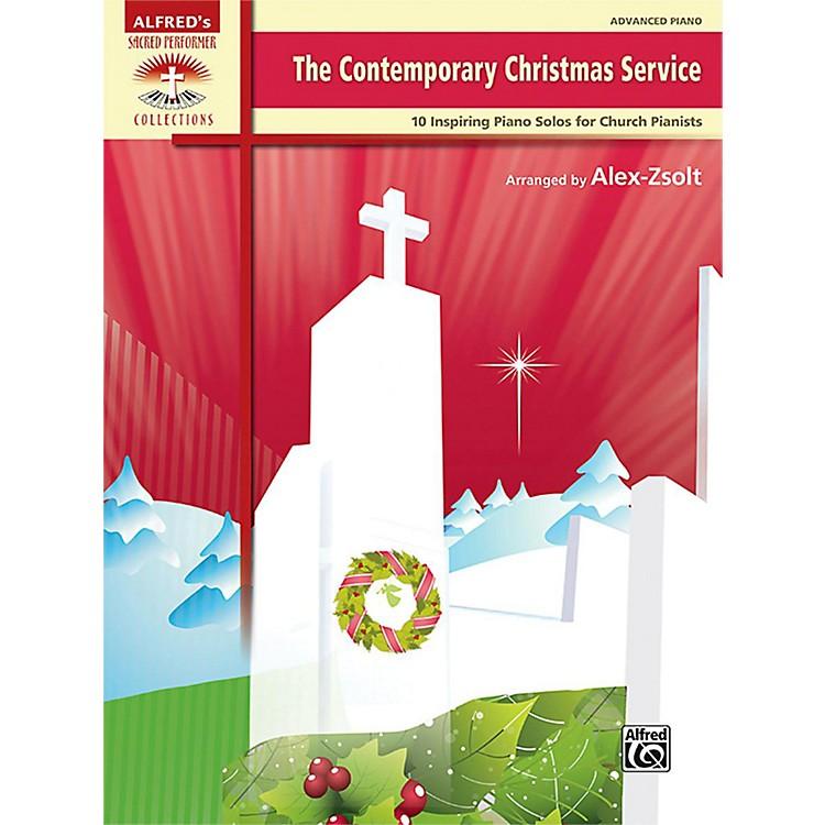 AlfredThe Contemporary Christmas Service Advanced