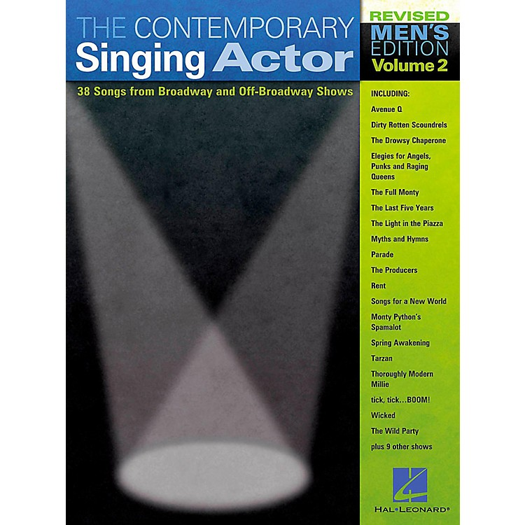 Hal Leonard The Contemporary Singing Actor - Men's Edition Volume 2