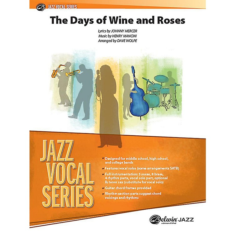 Alfred The Days of Wine and Roses Jazz Band Grade 3.5 Set