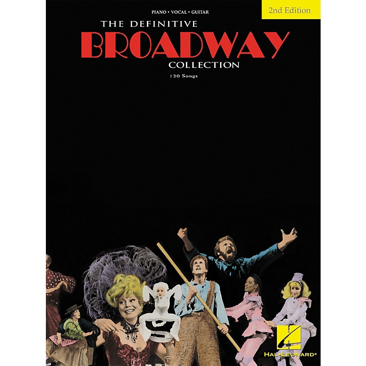 Hal LeonardThe Definitive Broadway Collection Songbook - Second Edition (Piano, Vocal, Guitar)