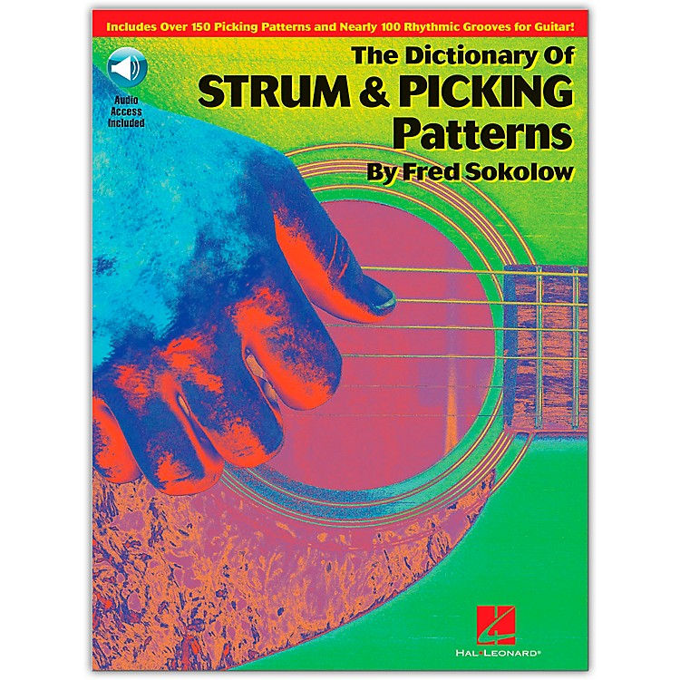 Hal Leonard The Dictionary of Strum and Picking Patterns (Book and CD Package)
