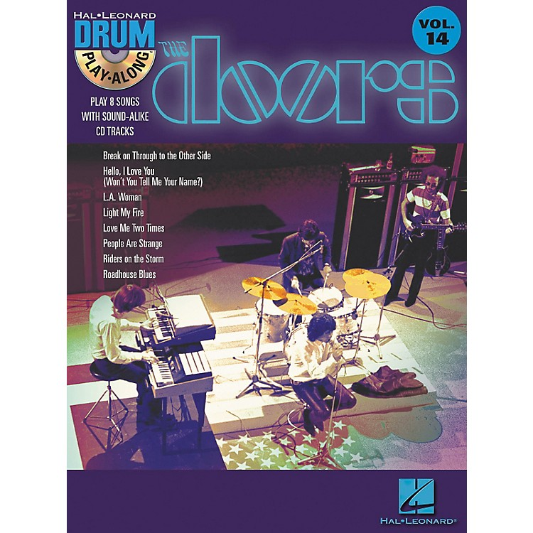 Hal Leonard The Doors - Drum Play-Along Volume 14 Book/CD Set