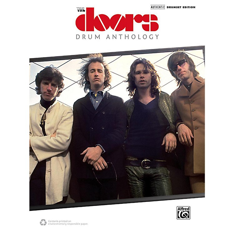 AlfredThe Doors: Drum Anthology Drum Transcriptions Songbook