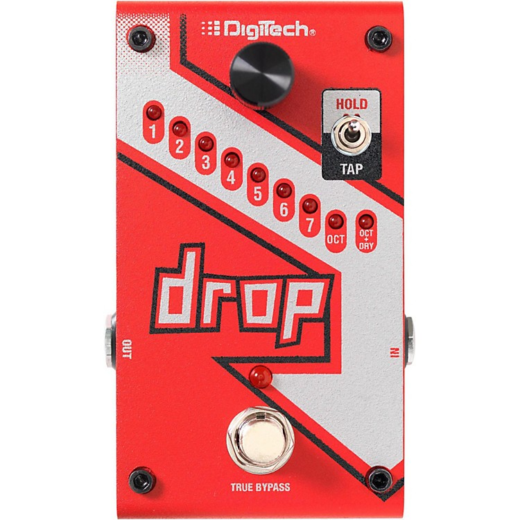 DigiTech The Drop Polyphonic Drop Tune Pitch-Shifter Guitar Effects Pedal