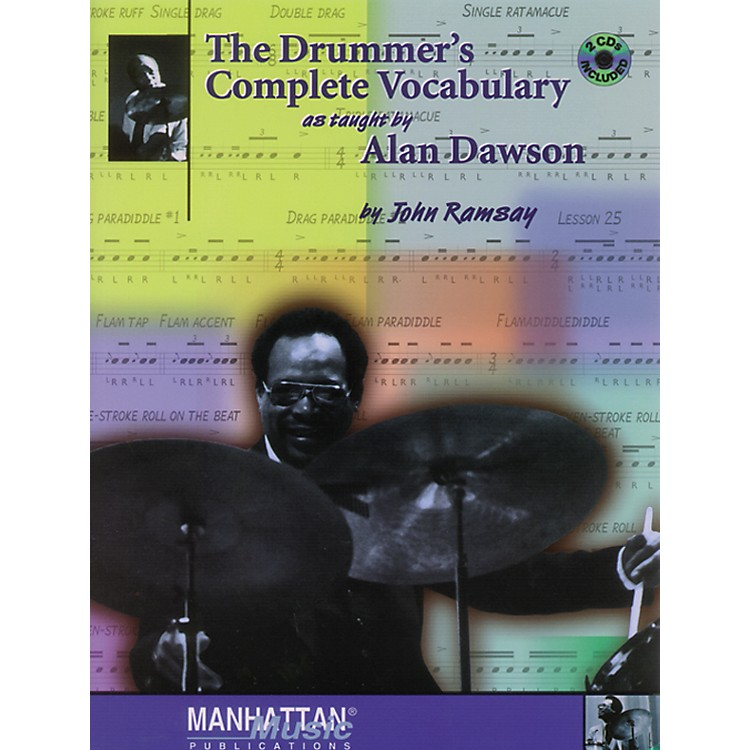 Alfred The Drummer's Complete Vocabulary As Taught by Alan Dawson Book & 2 CDs