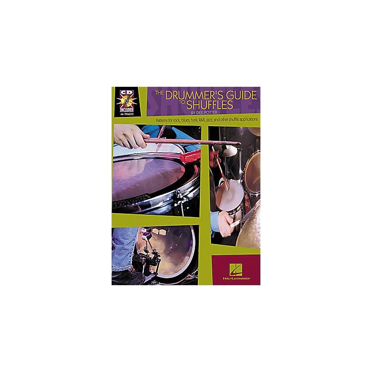 Hal LeonardThe Drummer's Guide to Shuffles Book/CD