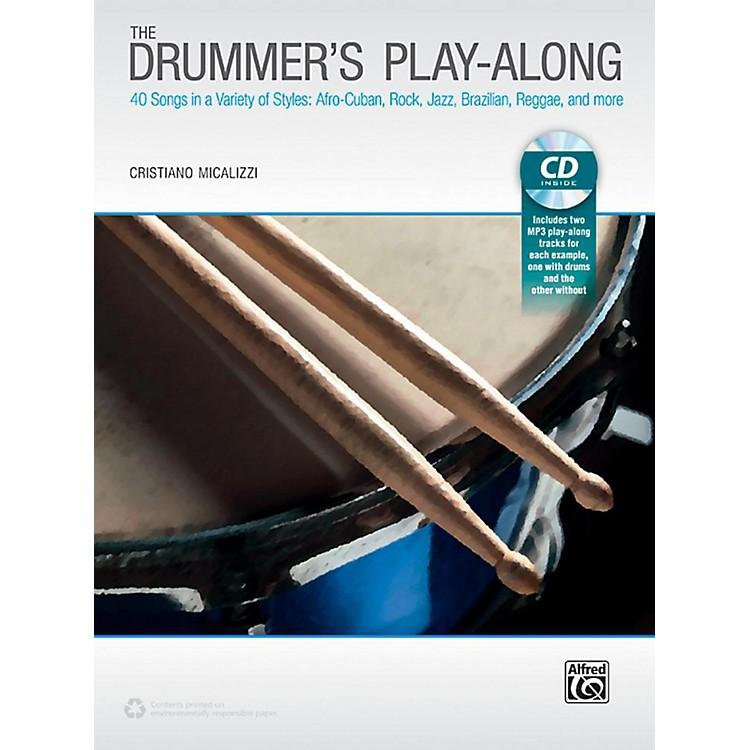 AlfredThe Drummer's Play-Along - Book & CD