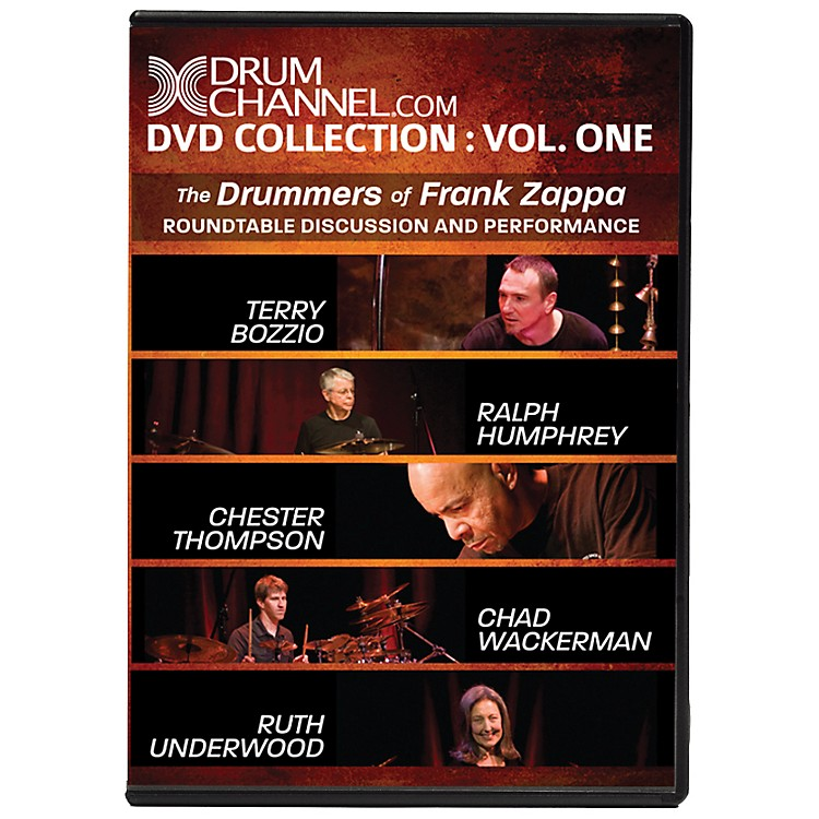 The Drum ChannelThe Drummers of Frank Zappa DVD