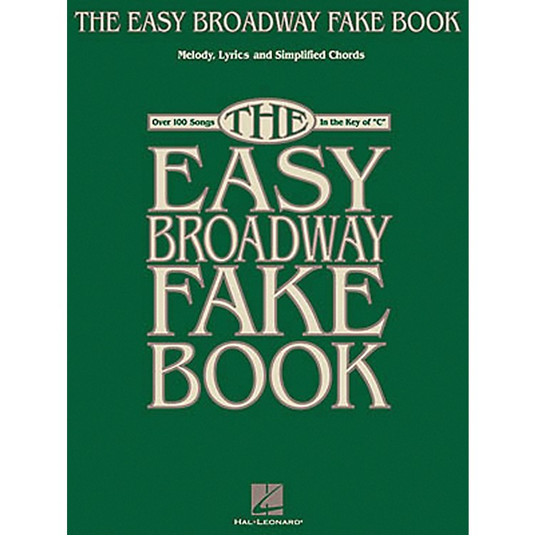 Hal Leonard The Easy Broadway Fake Book
