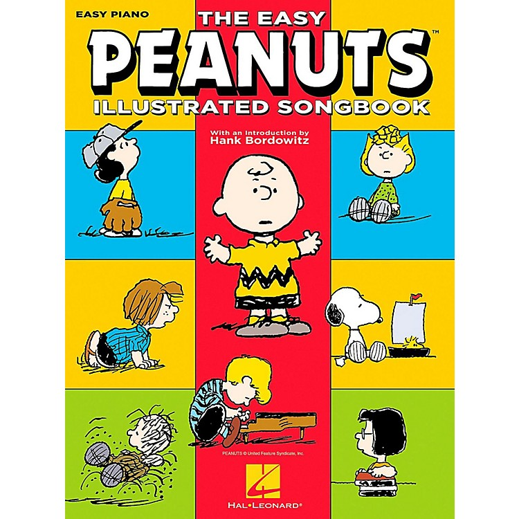 Hal Leonard The Easy Peanuts Illustrated Songbook for Easy Piano