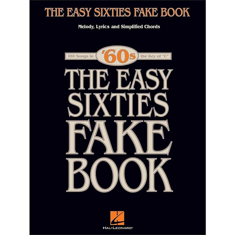 Hal LeonardThe Easy Sixties Fake Book - Melody, Lyrics & Simplified Chords - The Key Of C