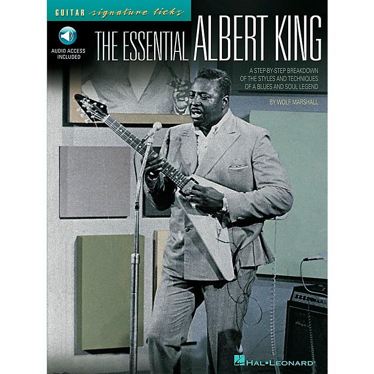 Hal LeonardThe Essential Albert King Guitar Signature Licks Book with CD