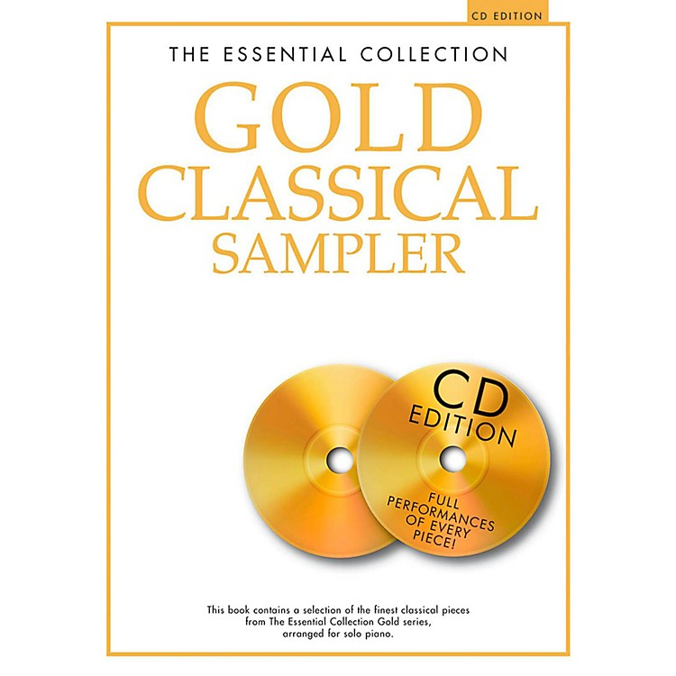 Music SalesThe Essential Collection - Gold Classical Sampler For Piano Solo Book/2CDs