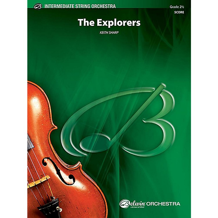 Alfred The Explorers String Orchestra Grade 2.5 Set
