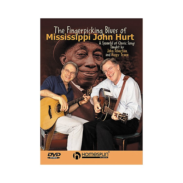Homespun The Fingerpicking Blues of Mississippi John Hurt (DVD)