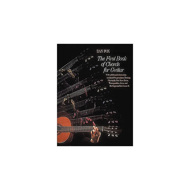 G. Schirmer The First Book of Chords for the Guitar Book
