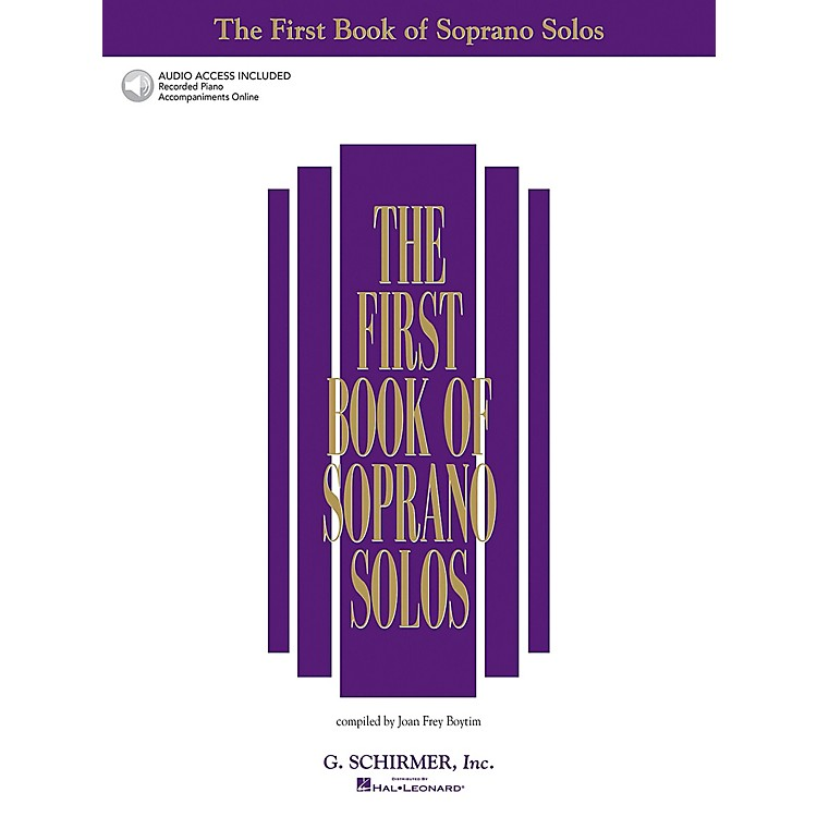 Hal LeonardThe First Book of Soprano Solos
