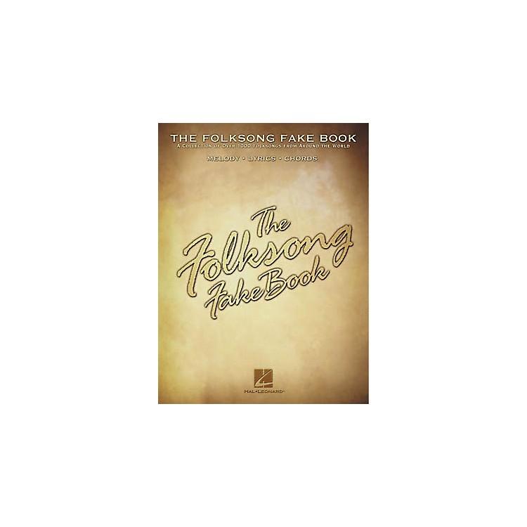Hal LeonardThe Folksong Fake Book - C Edition