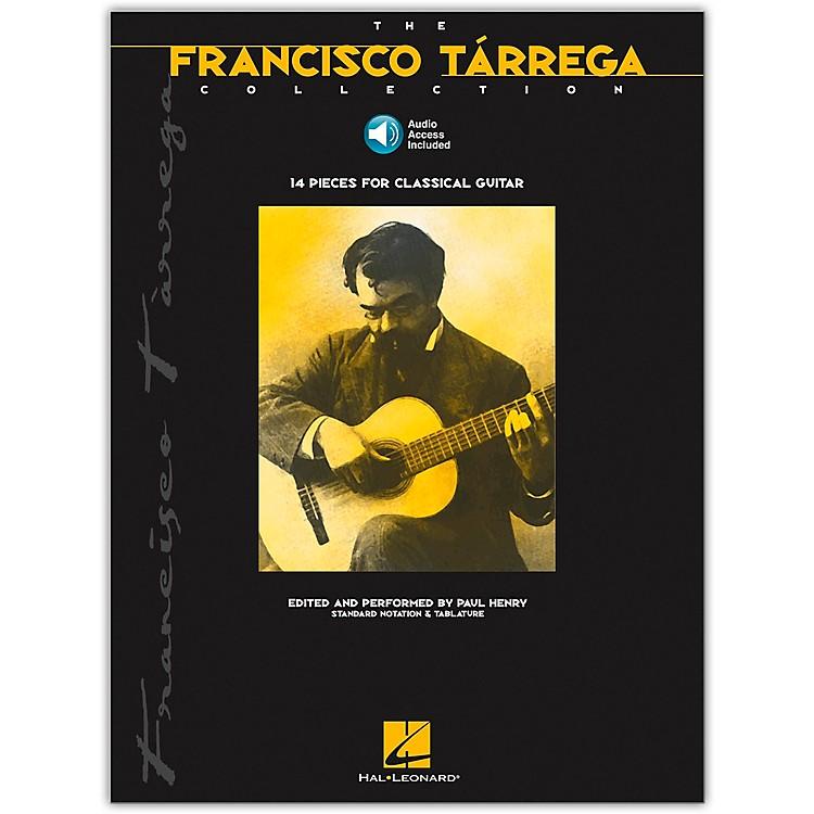 Hal LeonardThe Francisco Tarrega Collection Tab & Notation Book with CD