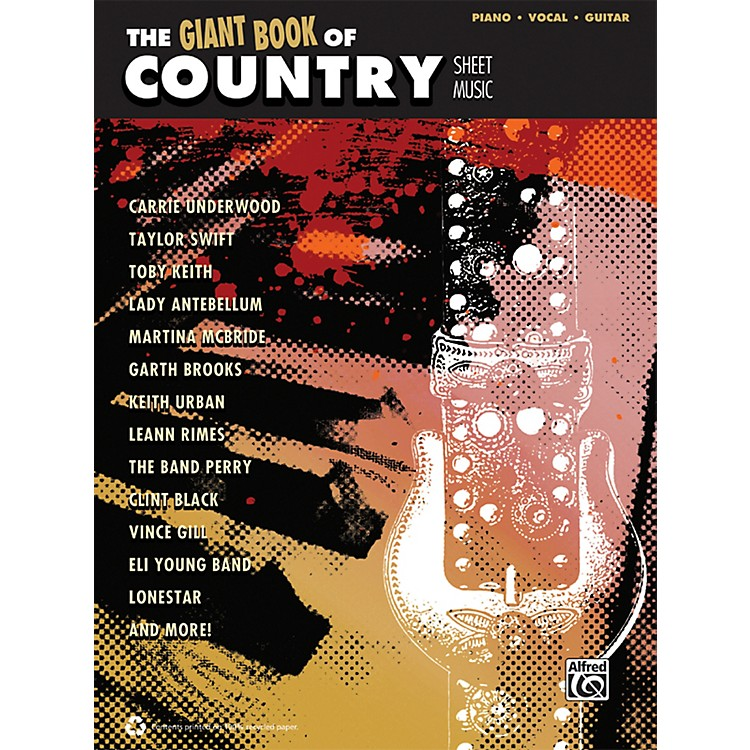 AlfredThe Giant Book of Country Sheet Music P/V/C Book